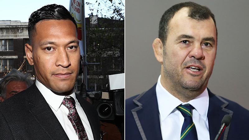 Wallabies coach Michael Cheika says his stance on Israel Folau was never personal.