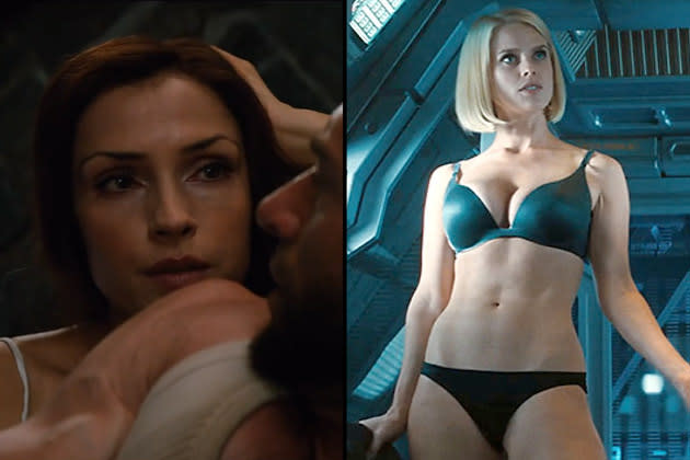 Awkward Underwear Scene Faceoff: Famke Janssen Vs. Alice Eve