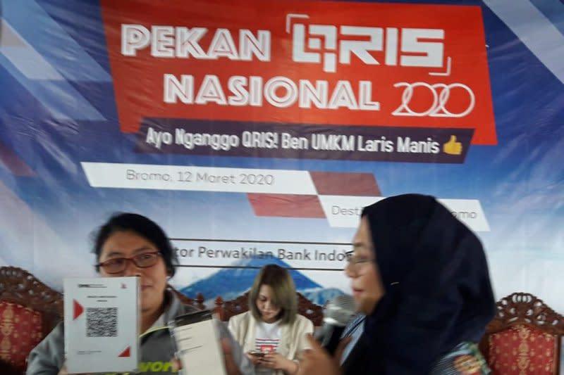 BI Malang dorong UMKM Taman Nasional Bromo Tengger Semeru gunakan QRIS