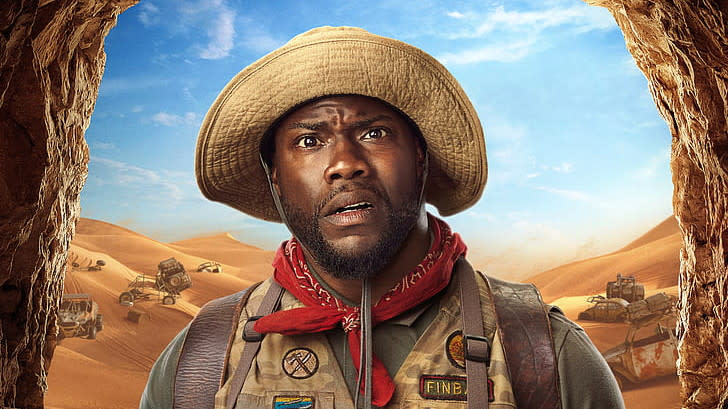 Kevin Hart in 'Jumanji: The Next Level'. (Credit: Sony)