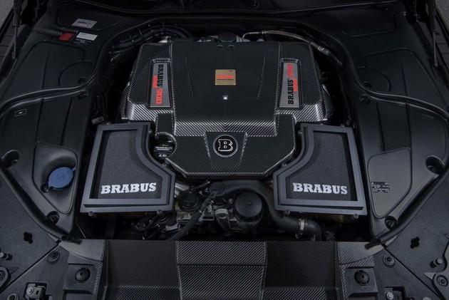 能想像開887hp的敞篷車嗎?Brabus Rocket 900 Cabrio送你一程