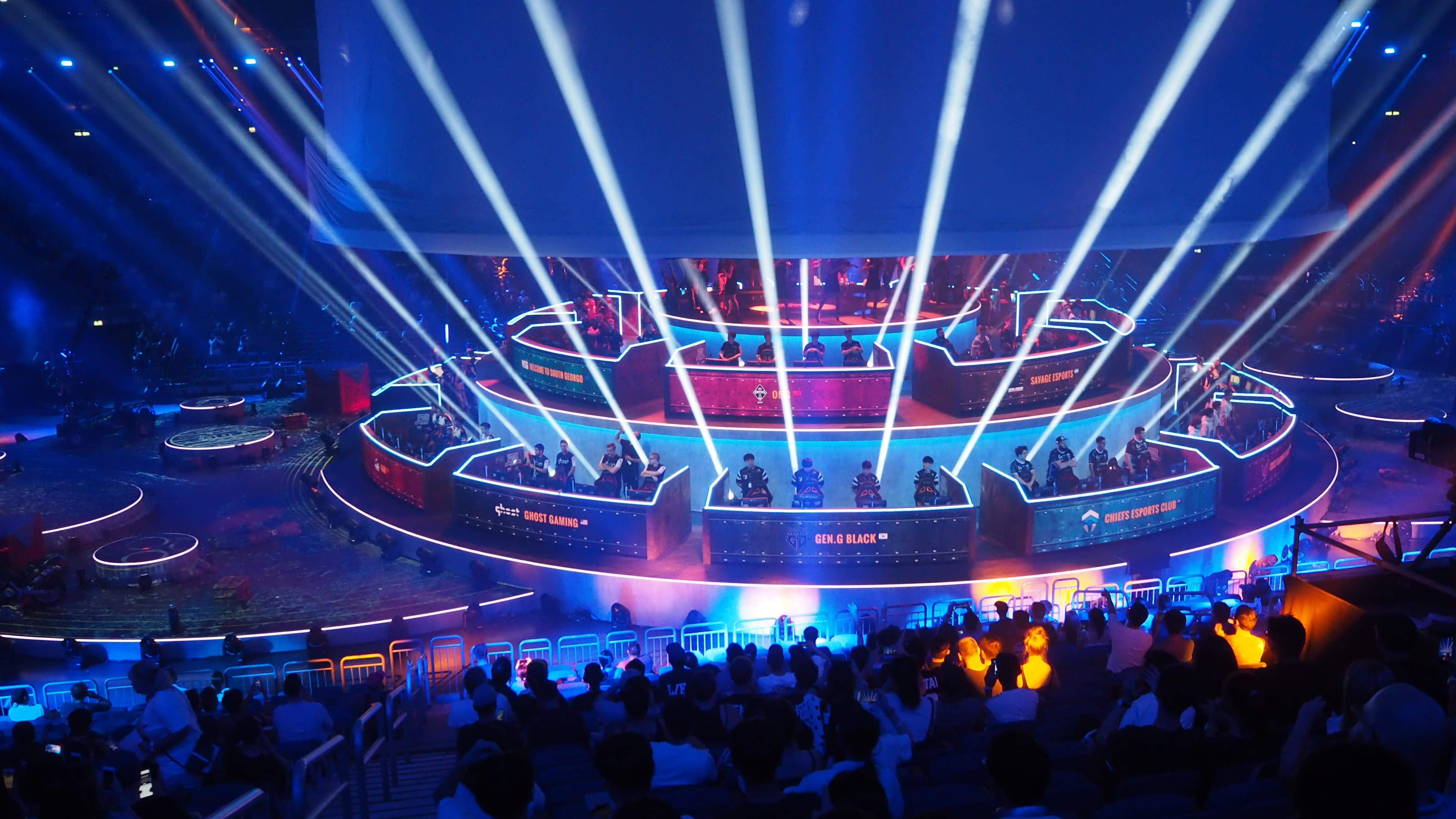 《絕地求生》全球隊伍開幕表演
