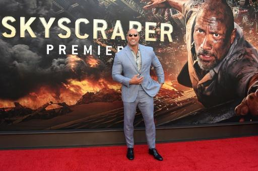 Dwayne Johnson cuts a solitary figure in the all-important late May to early August period as the only star of an entirely original blockbuster