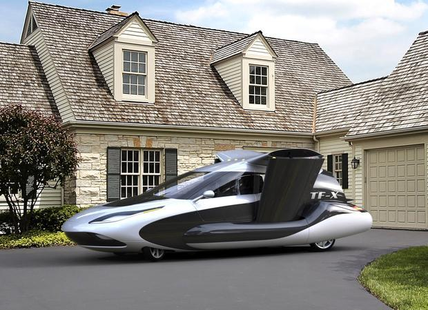 Terrafugia unveils new TF-X flying car design