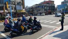 楊梅分局加強車輛與行人守法觀念 執行「路口安全大執法」宣導