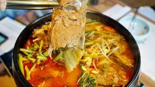 終於吃到念念不忘的馬鈴薯排骨湯!台北水剌韓式料理,防疫期間外帶自取8折
