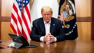 特朗普:我將很快復出,美國總統不能待在白宮躲避疫情