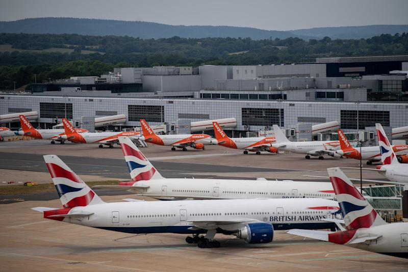 Most travellers are told to quarantine for two weeks upon entering the UK: Getty Images