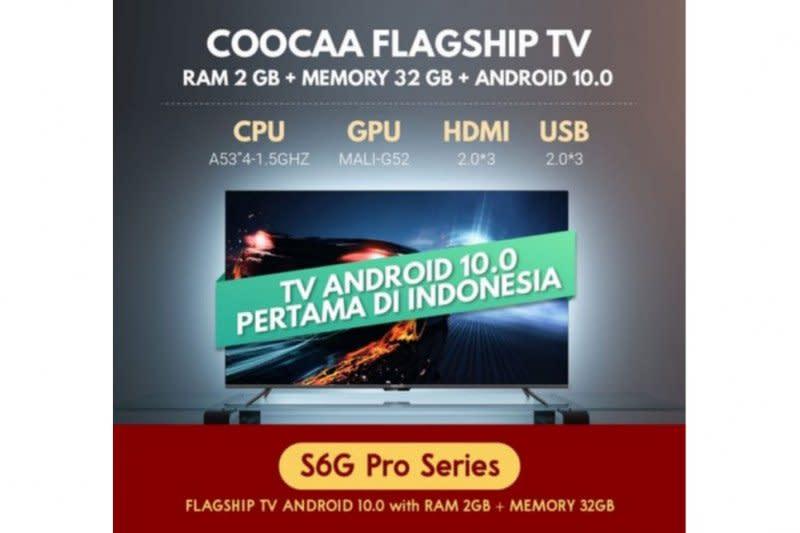 Coocaa bermitra dengan JD.ID hadirkan smart TV di Top Brand Day