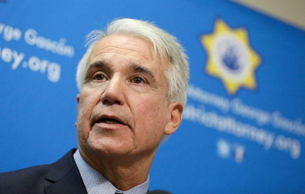 PHOTO: San Francisco District Attorney George Gascon speaks during a news conference in San Francisco, Dec. 9, 2014. (Eric Risberg/AP, FILE)