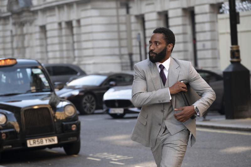 John David Washington in a still from Christopher Nolan's thriller 'Tenet'. (Credit: Warner Bros)