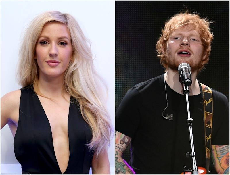 Ellie Goulding has long-been rumoured to be the subject of Ed Sheeran's song, 'Don't': Getty