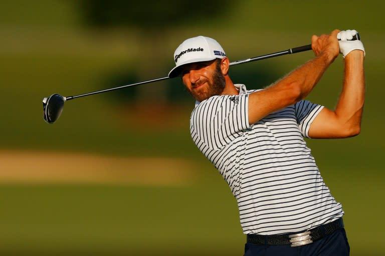No. 1 Johnson seizes command at PGA Tour Championship