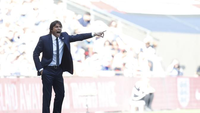 Antonio Conte. (AFP/Ian Kington)