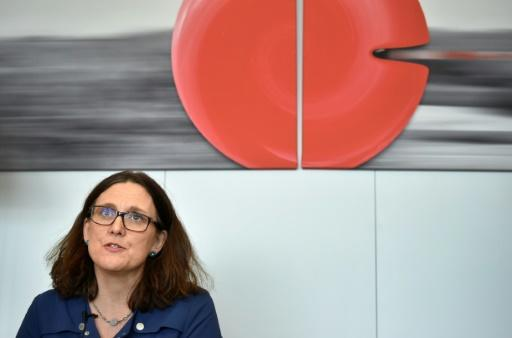 """EU Commissioner of Trade Cecilia Malmstrom welcomed the mandates adding that the deals with Australia and New Zealand would be """"win-win"""" for both sides"""