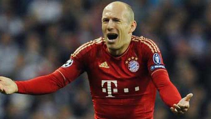 Bukti Arjen Robben Pemain Unik, Kaki Kirinya Sangat Mematikan