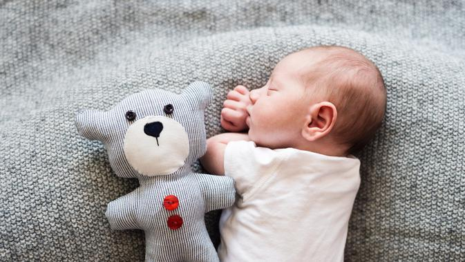 Ilustrasi Bayi Tidur (iStockphoto)