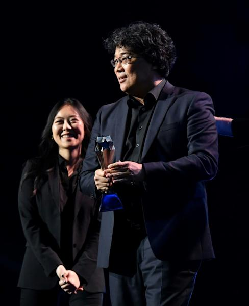 Director Bong Joon-ho has encouraged American moviegoers to overcome their aversion to subtitles