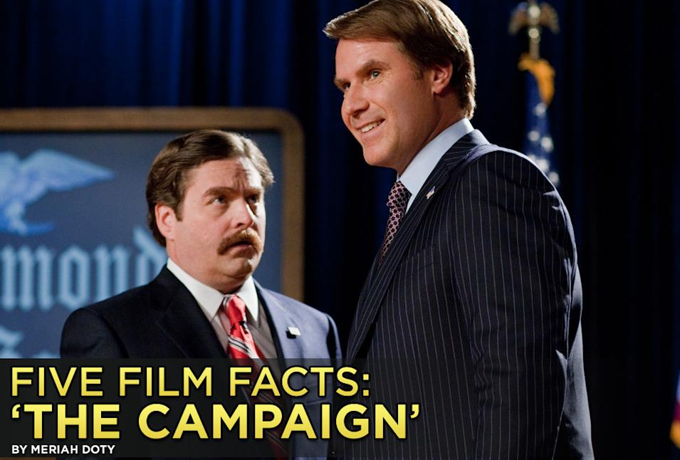 Five Film Facts The Campaign