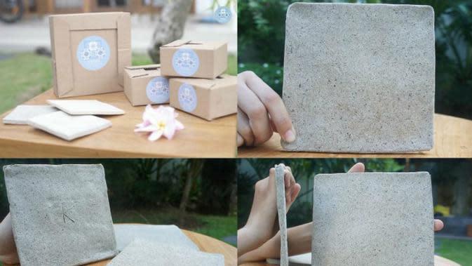 Mahasiswa ITS Bikin Keramik Ramah Lingkungan