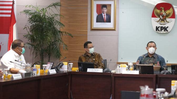 Kunjungi KPK, Mensos Sampaikan Komitmen Patuhi Prinsip Akuntabilitas dan Transparansi Anggaran
