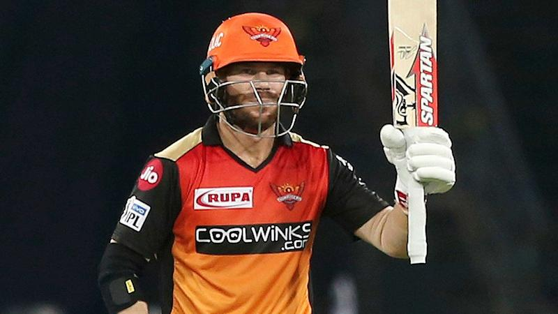 According to an IPL stats model, David Warner has become the 'greatest IPL batsman of all time'. Pic: AAP
