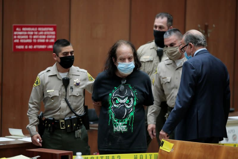 Adult film star Ron Jeremy makes first appearance in Los Angeles County Superior Court