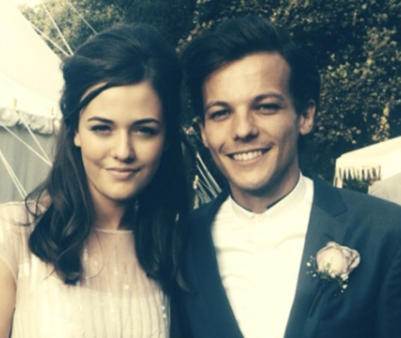 Felicite pictured with her brother Louis. Source: Instagram