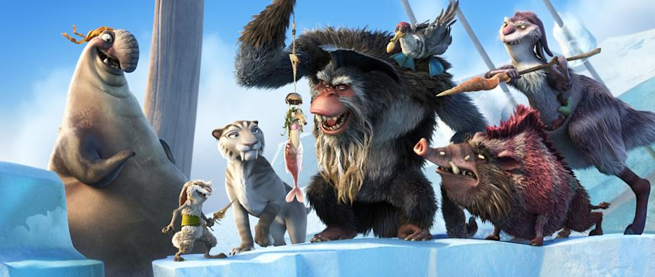 Ice Age Continental Drift Stills