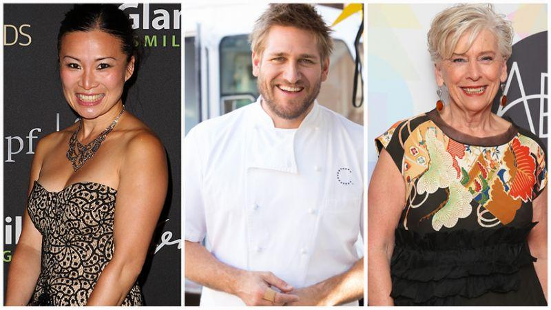 Poh Ling Yeow (left) has been tipped to be one of the new MasterChef judges alongside Curtis Stone (centre) and Maggie Beer (right). Photo: Getty