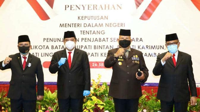 Mendagri Tunjuk Samsul Bahrum Jadi Pejabat Sementara Wali Kota Batam