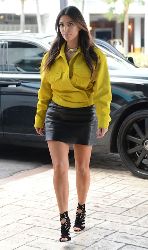 Kim Kardashian puts herself on 'worst-dressed list'