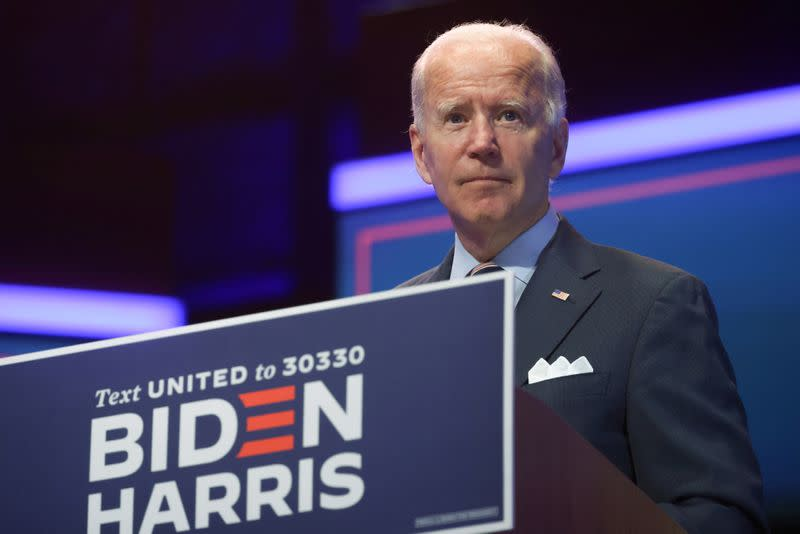 Biden challenges Trump on economy in Minnesota face-off, early voting begins in four states