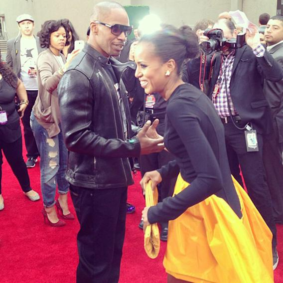 Jamie Foxx, Kerry Washington