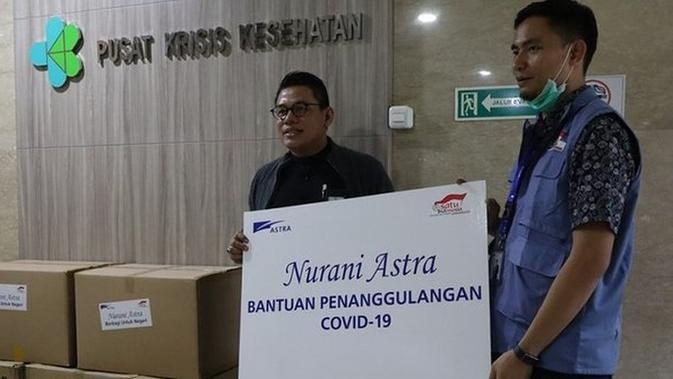 Astra Grup Gelontorkan Bantuan Puluhan Miliar untuk Hadapi Penyebaran Corona Covid-19