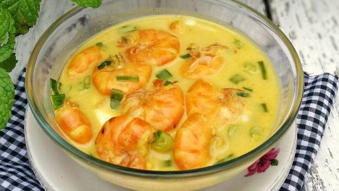 ilustrasi resep soto udang/resepmasakan.id