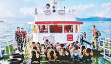 黑暴偷渡船 12人身份曝光