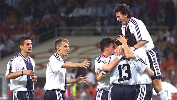 Yugoslavia berkompetisi di Piala Dunia 1998. (AFP/Jacques Demarthon)