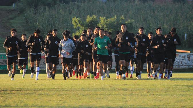 Timnas Indonesia U-19 menjalani pemusatan latihan TC di Kroasia. (foto: PSSI)