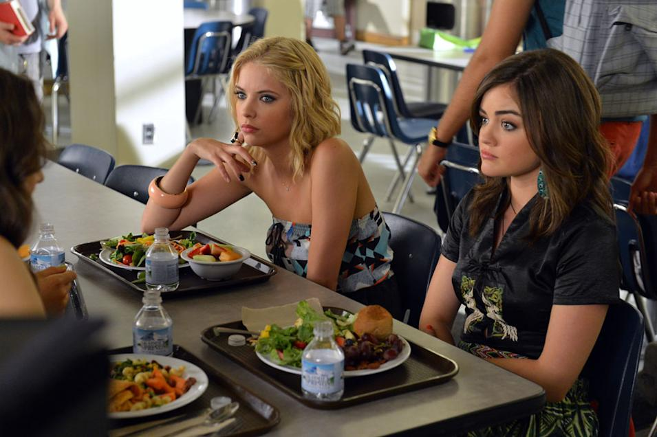 """""""Pretty Little Liars"""" - """"Kingdom of the Blind"""": STERLING SULIEMAN, SHAY MITCHELL"""
