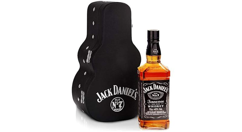 Jack Daniel's Old No.7 Guitar Case Whisky Gift Pack