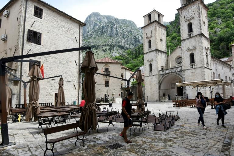 There have been no reported cases of coronavirus in the coastal town of Kotor in Montenegro