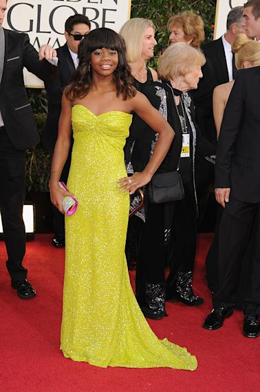 70th Annual Golden Globe Awards - Arrivals: Gabby Douglas