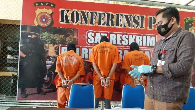 Tiga Residivis di Aceh Cabuli Bocah 8 Tahun, Begini Kronologinya
