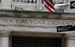 US stocks eke out last-minute gain as utilities rise