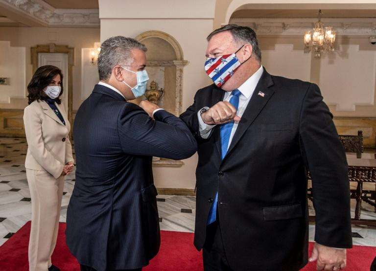 Pompeo bolsters South American alliance against Maduro