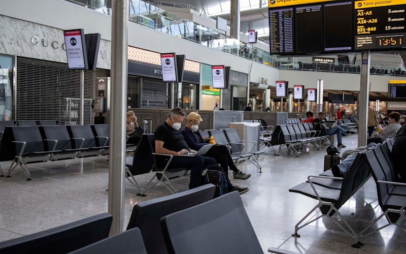 International travellers will spend 14 days in quarantine on arrival in the UK from next week - Jeff Gilbert