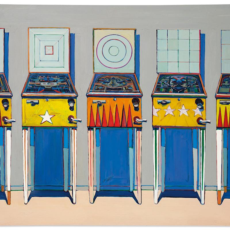 Thiebaud, Four Pinball Machines - Christie's