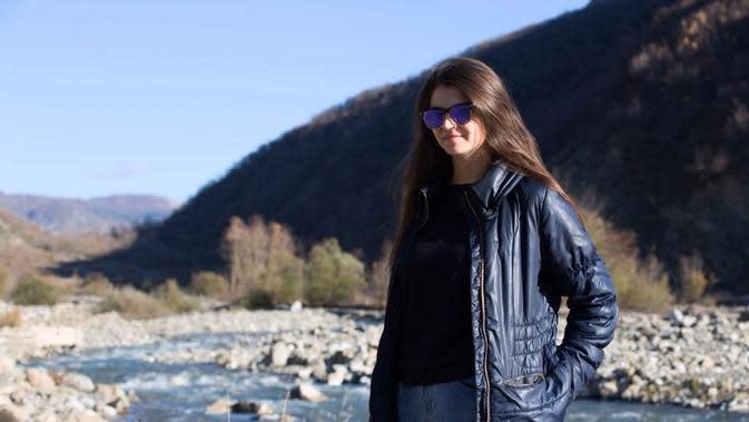 Kristi Reci, calon menantu Perdana Menteri Albania Edi Rama jadi salah satu korban tewas akibat gempa. (Ist)