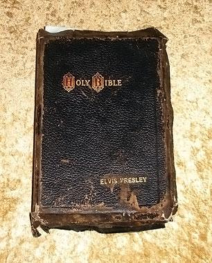 Elvis' Bible Sells for $94,000 at Auction